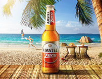 """ AMSTEL Zero "" Unofficial Ad ."