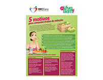 Printed and digital material for health campaigns