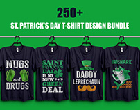 St. Patrick's Day T-Shirt Design Bundle​​​​​​​