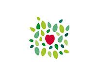 Logos recherches - cœur de cueillette