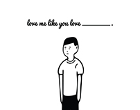 Love Me Illustration