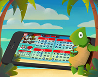Turtle Bingo app