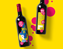BOGYÓLÉ / wine label