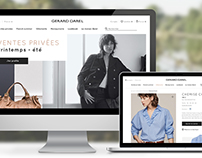 Gerard Darel B to C website