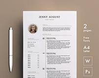 JENNY - RESUME