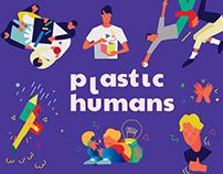 Plastic Humans – Just Another Illustration Set