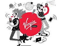 VIRGIN MOBILE / MURAL / 2015