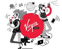 VIRGIN MOBILE / MURAL / 2015