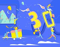 Turning 30 !