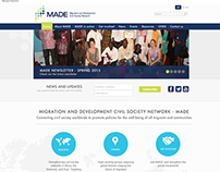Made Network - Presentation website (Belgium 2014)