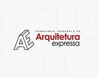 Processo de criação de logotipo - Arquitetura Expressa