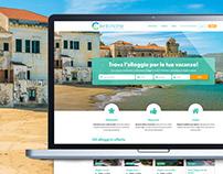 Vacancy rental platform for Cilento Home