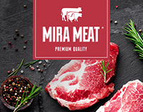 MIRA MEAT - Branding & Website