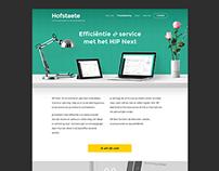 Ontwerp en realisatie website Hofstaete