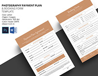 Payment Plan & Booking Form