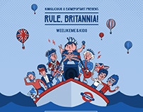 Rule Britannia Party Poster