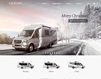 Christmas Image - Mercedes Sprinter Motorvan