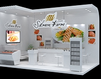 Salmon farm - Exhibition design booth