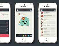 Sticki Chat App UI