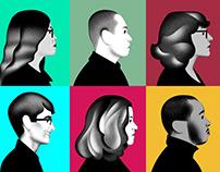 WIRED Magazine Staff portraits