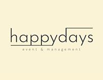 Happydays Events Logo