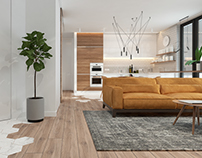 Bright studio apartment / Kyiv