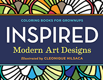 """Inspired"" Coloring Book for Grownups"