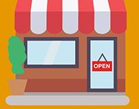Animated Storefront