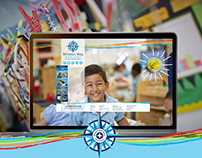 Winston Way Primary School, Website Design