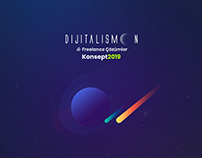 Dijitalismoon Social Media Packs. Creative Concept