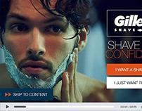 GILLETTE Shave Club Extender Video Overlay