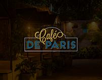 Cafe De Paris Social Media Content Creation