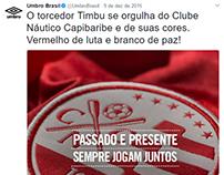 Umbro Brasil - social media