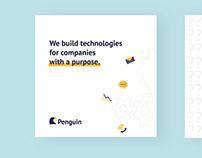 Penguin Digital Agency   Branding