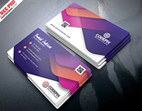 Premium Business Card Design PSD