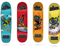 Cruzade Skateboards 2020 Deck Collection (COPIAR)