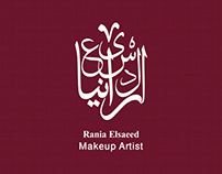 Rania Elsaeed - Makeup Artist - Logo Design