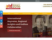ATD Middle East  - Website Design
