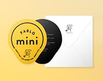 Pablo Mini Invitation
