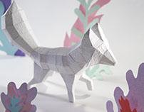Esculturas de Papel Artesanal