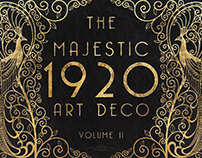 The Majestic Art Deco Collection by The Paper Town