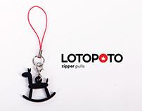 LOTOPOTO Zipper Pulls / Deslizadores