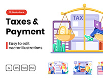 M297_ Taxes And Payment Illustrations