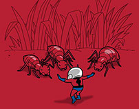 Ant training