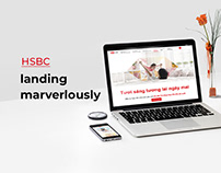 HSBC Landing Pages