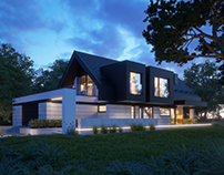"ANOTHER MODERN ""BARN"". (vis. for lk-projekt.pl)"