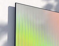 Samsung Ambient - Real time digital art