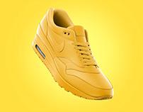 Nike Air Max - Mockup - 3D & Rendering