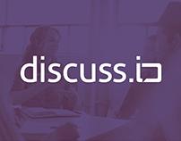 discuss.io Brand Identity