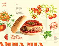 Comi na Kombi | Italian Burguer